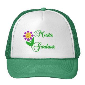 Jardinero principal gorras
