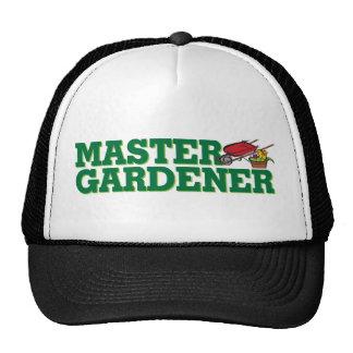 Jardinero principal gorros bordados