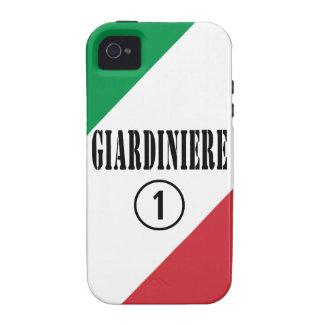 Jardineros italianos: Uno de Giardiniere Numero iPhone 4 Funda