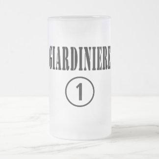 Jardineros italianos: Uno de Giardiniere Numero Jarra De Cerveza Esmerilada