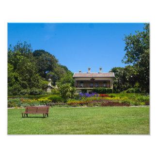 Jardines botánicos de Melbourne, Australia - Cojinete