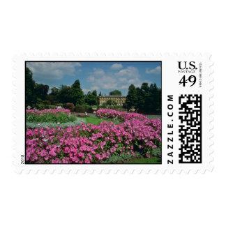 Jardines botánicos reales en Kew, Londres, Englan Franqueo