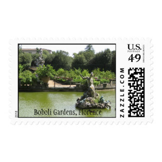 Jardines de Boboli, Florencia Timbre Postal