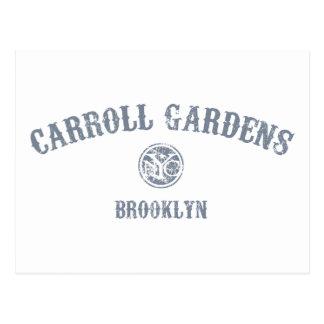 Jardines de Carroll Tarjetas Postales