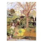 Jardines de Joaquín Sorolla- del Alcázof Sevilla Postales