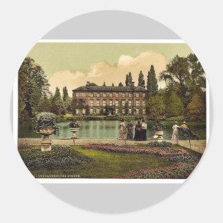 Jardines de Kew, el museo, Londres y suburbios, Pegatina Redonda