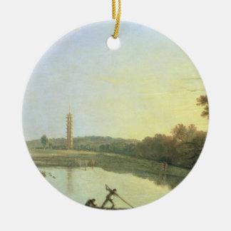 Jardines de Kew: La pagoda y el puente, 1762 (acei Ornatos
