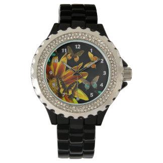 Jardines de la mariposa relojes de mano