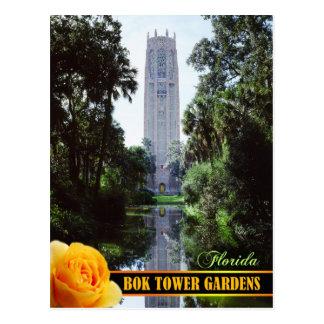 Jardines de la torre de Bok y torre del canto, la Postal