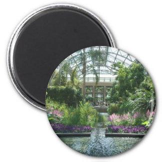Jardines de Longwood Imán Redondo 5 Cm