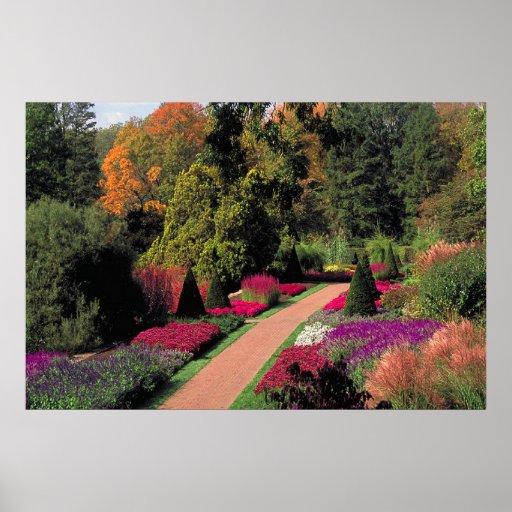 Jardines de Longwood - Pennsylvania Póster