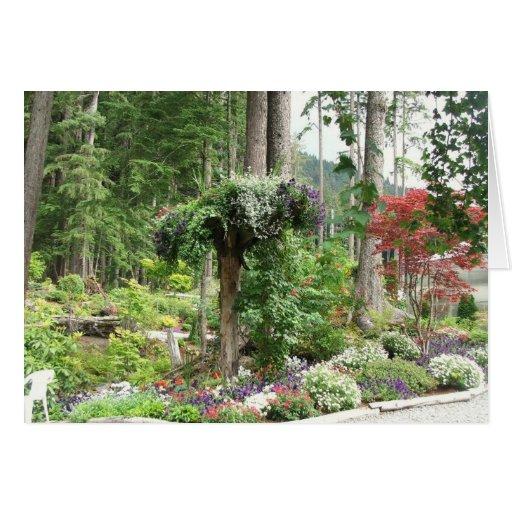 Jardines de Mendenhall, Juneau Alaska Tarjeta De Felicitación