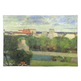 Jardines de mercado de Vaugirard - Paul Gauguin (1 Mantel