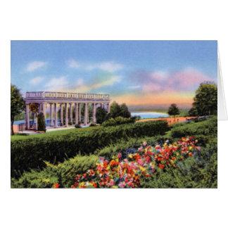 Jardines de Omaha Nebraska Mount Vernon Tarjeta