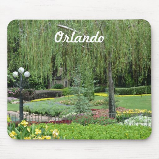 Jardines de Orlando Tapete De Ratones