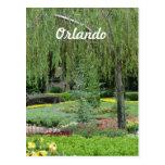 Jardines de Orlando Tarjetas Postales