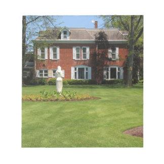 Jardines de Schedel y casa señorial del arboreto Libretas Para Notas