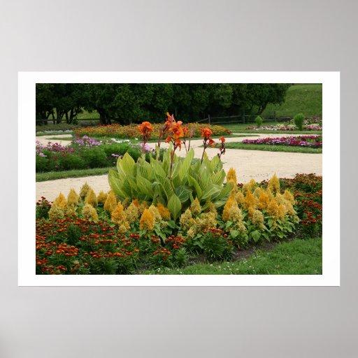 Jardines de Sinnissipi, ROCKFORD, IL Poster