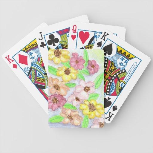 Jardines del barranco baraja cartas de poker