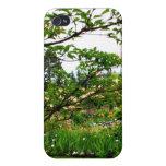 Jardines del iris iPhone 4/4S carcasas