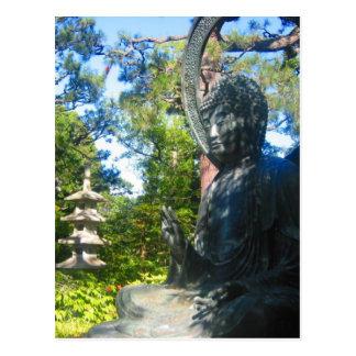 jardines del japonés de Buda Postal