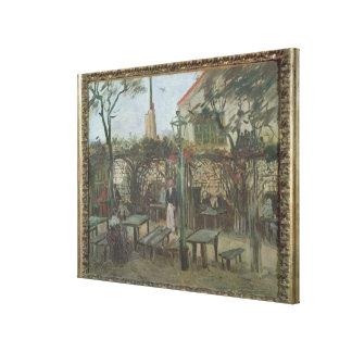 Jardines del placer en Montmartre, 1886 Impresión En Lona Estirada