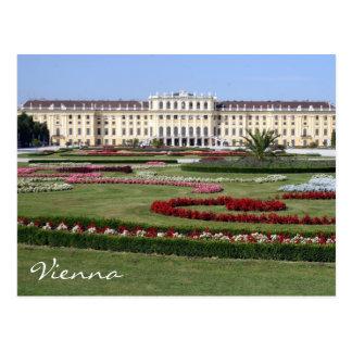 jardines del schönbrunn tarjetas postales