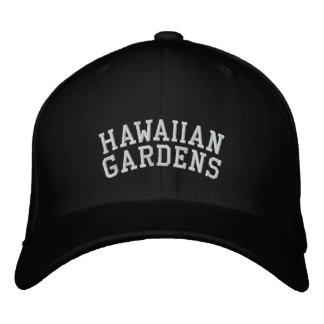 Jardines hawaianos gorras bordadas