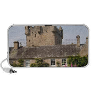 Jardines hermosos y castillo famoso en Escocia 2 Mini Altavoz