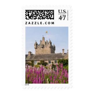 Jardines hermosos y castillo famoso en Escocia 2 Estampillas