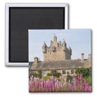 Jardines hermosos y castillo famoso en Escocia 2 Iman