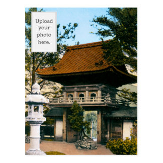 Jardines japoneses de la casa de té postales
