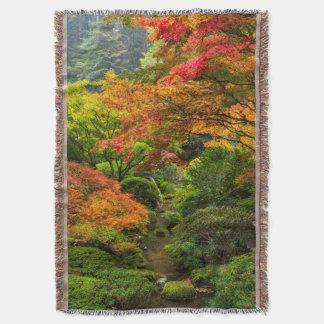 Jardines japoneses en otoño en Portland, Oregon 2 Manta
