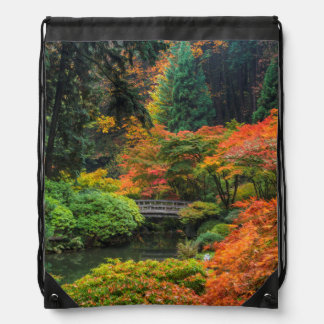 Jardines japoneses en otoño en Portland, Oregon 5 Mochilas