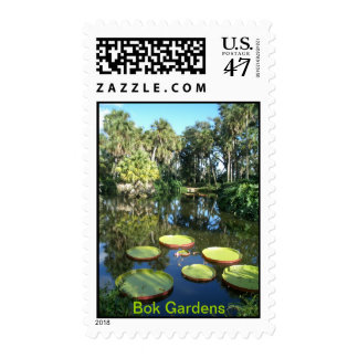 Jardines la Florida - lirios de la torre de Bok de Estampilla