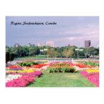 Jardines legislativos pintados de Regina Postales