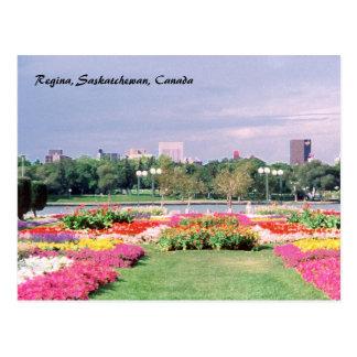 Jardines legislativos pintados de Regina Postal