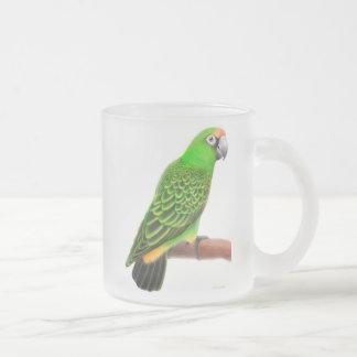 Jardines Parrot Frosted Glass Mug