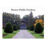 Jardines públicos de Boston Postales