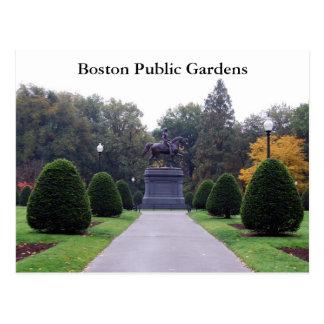 Jardines públicos de Boston Tarjetas Postales