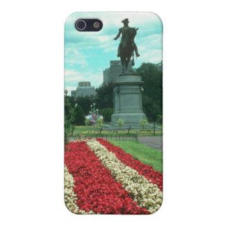Jardines públicos, flowe de Boston, Massachusetts iPhone 5 Carcasas