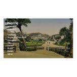 Jardines públicos y casino municipales, Niza, Rivi Plantillas De Tarjetas Personales