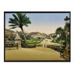 Jardines públicos y casino municipales, Niza, Rivi Tarjeta Postal
