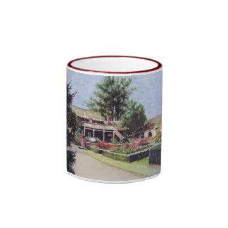 Jardines rotatorios en la taza de Janesville Wisco