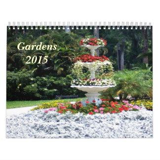 Jardines y calendario de las flores 2015