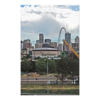 Jardines y la Denver céntrica Colorado SK de Papeleria Personalizada