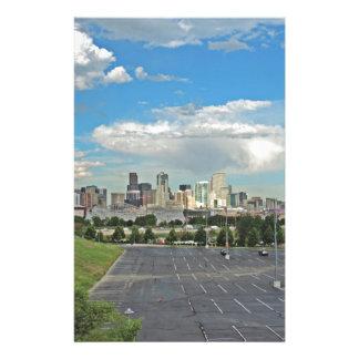 Jardines y la Denver céntrica Colorado SK de Papeleria De Diseño