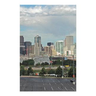 Jardines y la Denver céntrica Colorado SK de Personalized Stationery