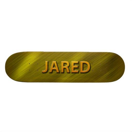 jared gold custom skateboard decks