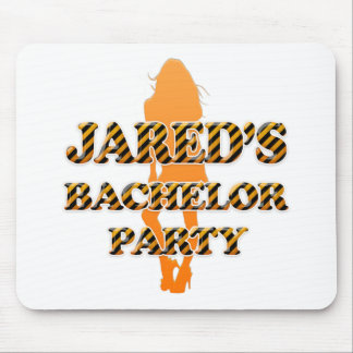 Jared's Bachelor Party Mouse Pad